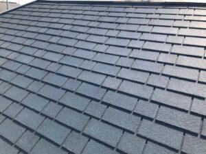 紺色の屋根