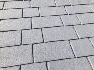 グレー色の屋根のドアップ